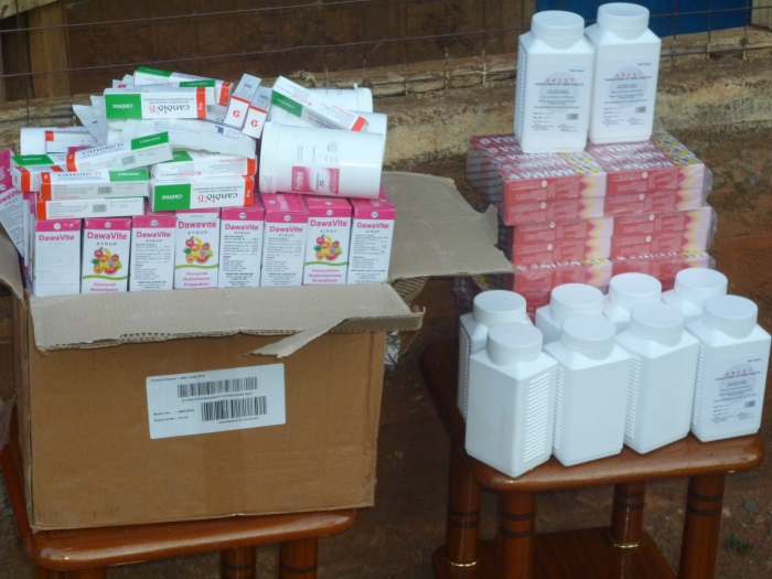 Medical Donation At KIENI HIV GROUP