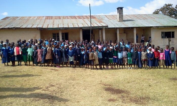Students at Safina Haji School;